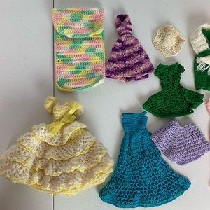 Vintage Barbie clothes accessory bundle lot